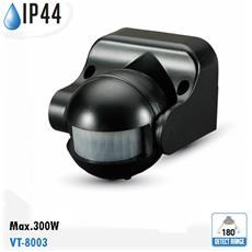 Sensore Di Movimento A Infrarossi Ip44 Esterno Vt-8003 5077