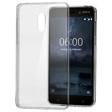 Cover Slim Crystal per Nokia 6 colore Trasparente