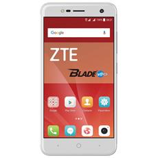 "Blade V8 Mini Argento 16 GB 4G/LTE Dual Sim Display 5"" HD Slot Micro SD Fotocamera 13 Mpx Android Europa"