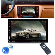 "Autoradio 2 DIN 7"" Touch Screen Stereo MP5 MP3 Media Player USB FM IT"