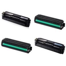 Toner Compatibile Ciano Rigenerato Per Samsung Clp 415, Clx 4195. 1.800 Pagine