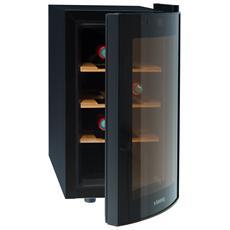 Cantinetta Vino AGE8WV Capacità 8 Bottiglie Classe B Colore Nero