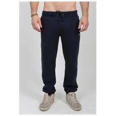 Pantalone Uomo American Classic Pants Polsino Blu Xxl