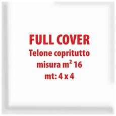 Telone Copritutto Trasparente Full Cover 4x4m 16m2