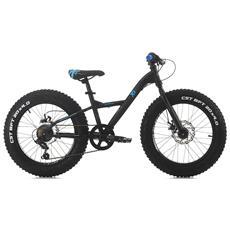 Bicicletta Fat Bike Bambino, 24'', 21 V, telaio In Alluminio 36 Cm