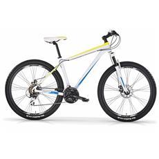 """Mountain Bike 227 Disk Da Uomo Di Mbm Con Telaio In Alluminio, Ruote Da 27.5"""""""" E Freni A Disco Meccanici E Forcella Ammortizzata"""