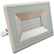 Faretti Led 30w Smd Ip65 Esterno Bianco Impermeabile Luce Fredda 6500k V Tac Vt-4031 5957