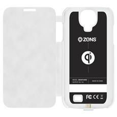 ZES4FCW / 00 Custodia a libro Bianco custodia per cellulare
