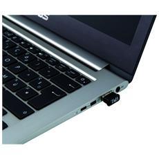 ADABT4, Senza fili, USB, Bluetooth, CSR, Nero