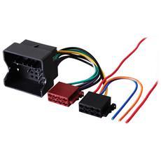 410632 ISO Autoradio Multicolore cavo di interfaccia e adattatore