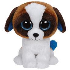 Duke, Cane giocattolo, Blu, Marrone, Bianco, 33 cm