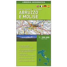 Abruzzo e Molise 1:200.000