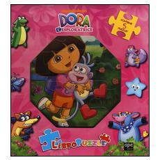 Dora l'esploratrice. Libro puzzle