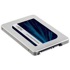 """SSD 525GB Serie MX300 2,5"""" Interfaccia Sata III 6 Gb / s"""