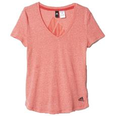 T-shirt Donna Logo V-neck Rosa Variante 1 S