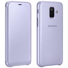 WALLET COVER GALAXY A6 VIOLET