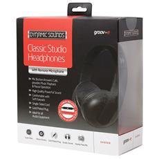 GV-9250-B Stereofonico Padiglione auricolare Nero cuffia e auricolare