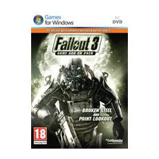 PC - Fallout 3 Game Add On 2 Broken Steel + Point Lookout