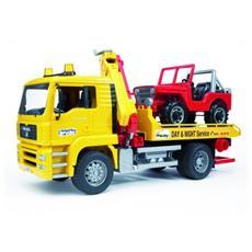 Camion Man Tga trasporto Jeep 02750