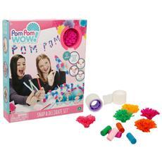 Pom Pom Wow - Party Kit 50 Pom Pom E Accessori
