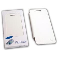 Cover Flip Per Nokia 820 Bianca Cover Copri Schermo