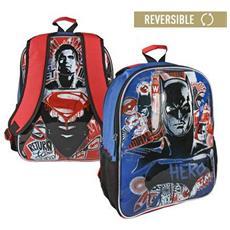 14d6c707ec BATMAN VS SUPERMAN - Zaino Scuola Reversibile Batman Vs Superman 860