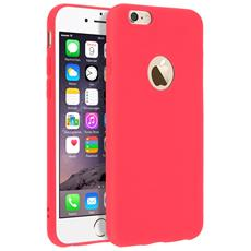 Cover Iphone 6 / 6s Soft Touch Silicone Gel Morbido - Rossa