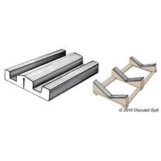 Profilato PVC 73 x 16 mm (rotolo 24 m)