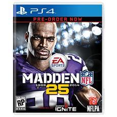 PS4 - Madden NFL 25