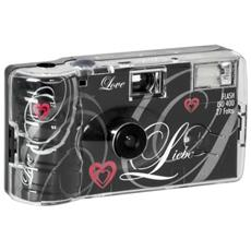 Single use Camera Flash 400 27 Love nero