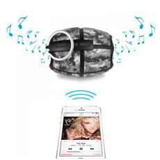 Speaker Audio Portatile Hi-Bomb2 Bluetooth colore Grigio