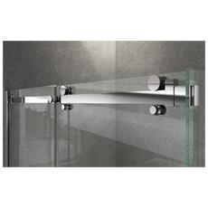 Box Doccia Magnum 90x160x200 8mm h200 Due lati con profili