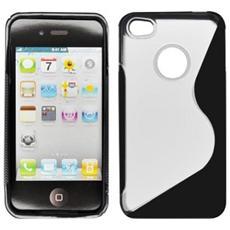 BT-TPU-AIP4BS Cover Nero, Bianco custodia per cellulare