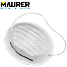 Mascherina di protezione antipolvere fibra sintetica con stringinaso 10 Pz