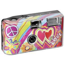 Single use Camera Flash 400 27 love rosso