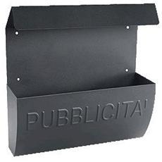 Cassetta porta publicità con tettuccio