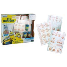 Minions - All Over Glitter Tattoo Kit