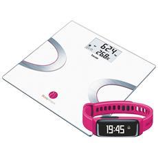 BF710+AS81 BodyShape System Bilancia Diagnostica + Sensore Attività Colore Rosa + App BodyShape