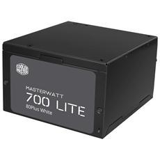 Alimentatore MasterWatt Lite 700W-230V ATX Certificazione 80 Plus