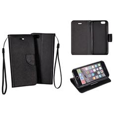 Cover Flip Bcf Per Samsung Trend Samsung Galaxy S7560 S7562 - Black