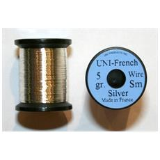 Uni French Tinsel Small Unica Argento
