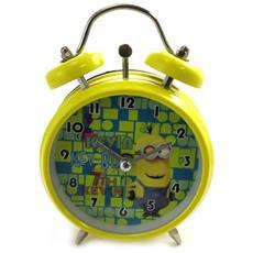sveglia metallo '' verde giallo (8 cm) - [ m2681]