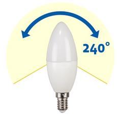 6.9W E14 6.9W E14 A+ Bianco caldo lampada LED