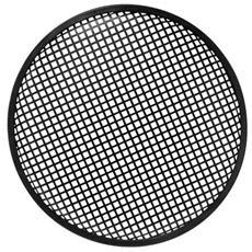 """12"""" black metal speaker grille, 30,5 cm, 30,5 cm, Metallo"""