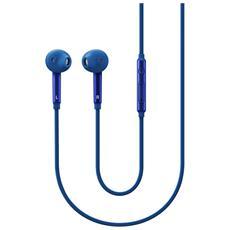 """EO-EG920L, Stereofonico, 3.5 mm (1/8"""") , Interno orecchio, Blu, Cablato, Intraurale"""