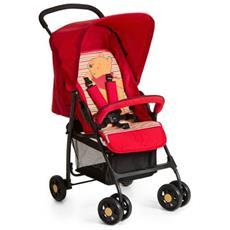 Sport Pooh Spring Brights Red Passeggino leggero 1seduta (e) Nero, Rosso