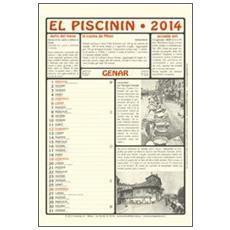 Piscinin. Calendario 2014. Con libro (El)