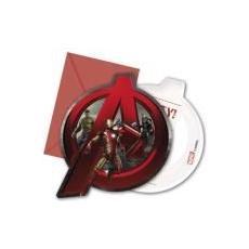 Avengers - Age Of Ultron - 6 Inviti Con Busta