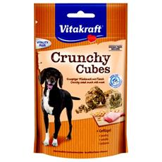 Snack per cani Crunchy Cubes Pollame 140 gr