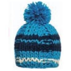 Cappello Donna Cupolina Multicolor Azzurro Blu Taglia Unica